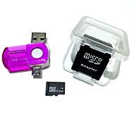 8gb микросхема tf карта памяти с 2 в 1 usb otg кард-ридер micro usb otg