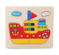 Пазлы Пазлы Строительные блоки Игрушки своими руками Корабль