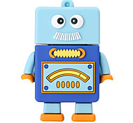 Новый мультяшный робот usb2.0 16gb флеш-накопитель u дисковая карта памяти