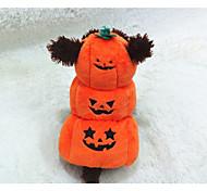 Собака Костюмы Одежда для собак Косплей Тыква Оранжевый