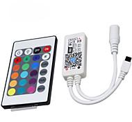 Hkv® 1pcs вел свет с контроллером wifi rgb 24 ключа интеллектуального контроллера мобильного телефона дистанционного управления DC 5-28v