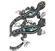 Жен. Броши Стразы Базовый дизайн Мода Винтаж По заказу покупателя Pоскошные ювелирные изделия Простой стиль Классика Elegant бижутерия