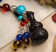 Сумка / телефон / брелок шарм тыква мультфильм игрушка деревянный китайский стиль