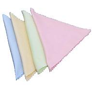 тончайший слой мобильный телефон или компьютер или очки очистки ткани случайных цветов (набор из 10шт)