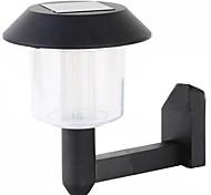 5004b 1led черная шляпа солнечная настенная лампа водить садовая лампа настенная лампа зарядка автоматическое управление светом