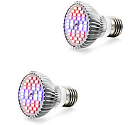 7W E14 GU10 E27 LED лампа для теплиц 40 SMD 5730 800-1200 lm Тёплый белый Белый Красный Синий V 2 шт.