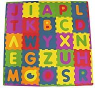 Пазлы Пазлы и логические игры Строительные блоки Игрушки своими руками Квадратный Буквы Этиленвинилацетат Пенорезина
