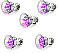 5W E14 GU10 E27 LED лампа для теплиц 10 SMD 5730 165-190 lm Красный Синий V 5 шт.