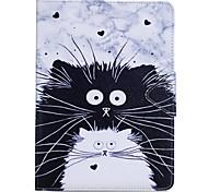 Чехол для ipad pro 10.5 ipad (2017) держатель карты с кошельком с подставкой флип полный чехол для тела кошка твердая кожа pu для ipad pro