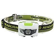 Налобные фонари LED 500 Люмен 3 Режим LED Батарейки не входят в комплект Будильник Защита от пыли Легкость для Походы/туризм/спелеология