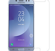 Закаленное стекло Защитная плёнка для экрана для Samsung Galaxy J7 (2017) Защитная пленка для экрана Против отпечатков пальцев HD Уровень