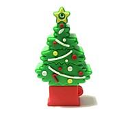 32gb рождество usb флеш-накопитель мультфильм творческая рождественская елка рождественский подарок usb 2.0