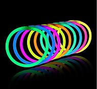 световые игрушки свечение палочки браслеты смешанные цвета партия способствует поставок (трубка 20)