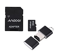 andoer 32gb класс 10 карта памяти tf карта адаптер кард-ридер USB флэш-накопитель для камеры автомобиль камера сотовый телефон стол ПК gps