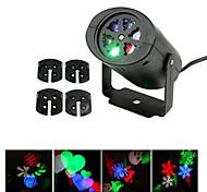 ywxlight® 3w eu us plug нет-водонепроницаемый снежинка рождественский проектор свет для домашнего сада пейзаж осветительная модель