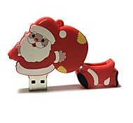 16gb рождество usb флеш-накопитель мультфильм творческий Санта-Клаус рождественский подарок usb 2.0