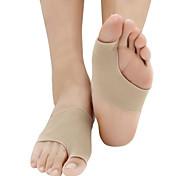 1pair hallux valgus bunion боковой силиконовый гель для ног большой костяной носок
