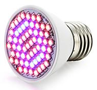 4W E27 LED лампа для теплиц 60 SMD 3528 1500-1800 lm Красный Синий V 1 шт.