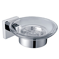 sapun nositelj jelo, masivni mesing završiti krom, kupatilo pribor (0640-3203)
