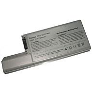 9-cellers batteri for Dell Latitude D820 D830 310-9122 cf704 mm165 cf623 yd624 d531 df192 df249 gx047 cf623