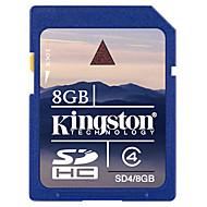 kingston clase 8gb tarjeta de memoria SDHC de 4