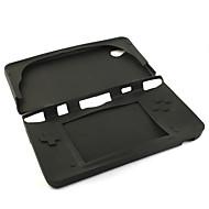 protetora da pele de silicone / caixa para o Nintendo DSi LL / XL (preto)