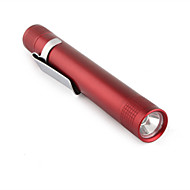 LED Flashlights / Handheld Flashlights LED 1 Mode 50 Lumens Super Light / Compact Size / Small Size Others 10440 / AAA MXDL , RedAluminum