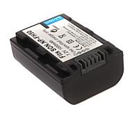 1000mAh batteri NP-FH50 för Sony HDR-ux5e, HDR-HC7E och mer