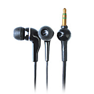 fones de ouvido de alta qualidade elegantes para iphone iphone 6 6 mais cabo de 1,2 m, 3,5 milímetros (preto)