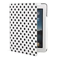 Dot PU Leather for iPad 2/3/4 (White)