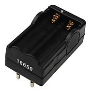 digitale li-ion batterijlader EU plug voor 2x18650