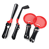 4-in-1 Sports Pack for PS3 Move (Black)