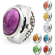 Cobble Case Metal Ring Watch