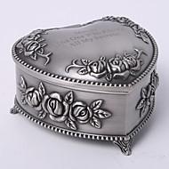personalizirane vintage tutania cvjetni dizajn Tema srce nakit kutija