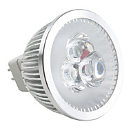 GU5.3 3.5 W 3 High Power LED 190 LM Natural White MR16 Dimmable Spot Lights DC 12 V