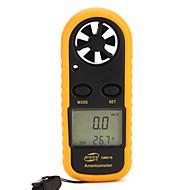 Anemômetro Medidor de Vento com Termômetro GM816