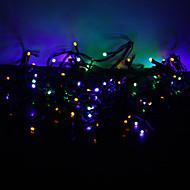 10m 100-ledede fargerike lys 8-mode ledet fairy string lampe til jul (220v)