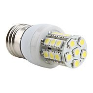 E26/E27 3.5 W 27 SMD 5050 300 LM Natural White T Corn Bulbs AC 220-240 V