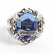 Biżuteria Zainspirowany przez Reborn! Mukuro Rokudo Anime Akcesoria do Cosplay pierścień Modrá Slitina / Kamienie sztuczne Męskie