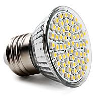 5w e26 / e27 led spotlight par38 60 smd 3528 300-350 lm varm hvid AC 220-240 v