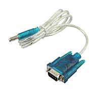 USB til RS232 seriel 9 pin DB9 kabel adapter PDA & GPS