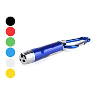 Mini White Light, Red Laser and UV Flashlight with Clip