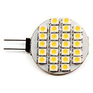 Lâmpadas de Foco de LED G4 1W 50 LM 2700K K Branco Quente 24 SMD 3528 DC 12 V