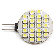 G4 1.5 W 24 SMD 3528 60 LM Natural White Spot Lights DC 12 V