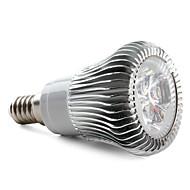 E14 6 W 3 High Power LED 450 LM Natural White Spot Lights AC 85-265 V