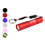 sourire de requin ss-5004 étanche 1-Mode LED Flashlight (1xAA, couleurs assorties)