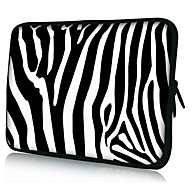 "zebra streep neopreen laptop sleeve geval voor 10 ""11"" 13 ""15"" ipad macbook dell hp acer samsung"