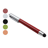 Stylus with Ballpoint Pen (Assorted Colors)