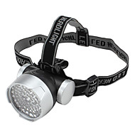 LED Flashlights/Torch / Headlamps LED 1 Mode 100 Lumens Tactical Others AA Others , Black Plastic