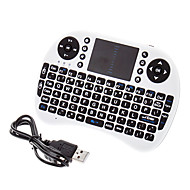 Mini Wireless QWERTY Keyborad with Mouse Touchpad